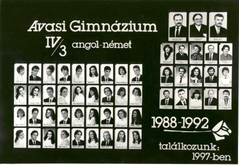 1992 IV/3 angol-német