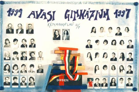 1997 IV/1 kéttannyelvű