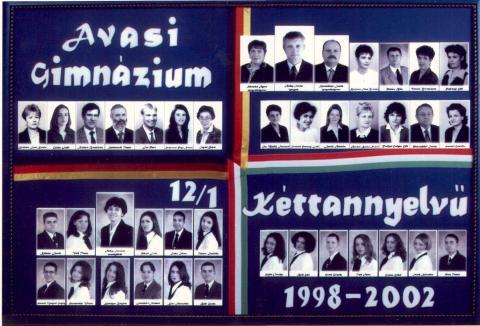 2002 12/1 kéttannyelvű