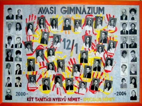 2004 12/1 két tanítási nyelvű német - speciális német