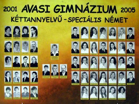 2005 12/1 kéttannyelvű - speciális német