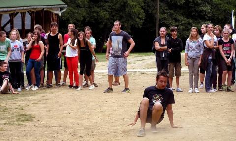 a csapatok versenye