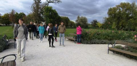 Edelény, kastélyparkban
