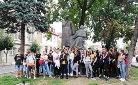 Bolyai szobor
