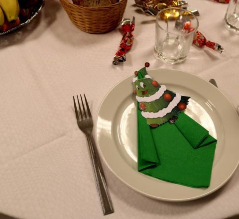 A dolgozói karácsonyi ebéd képei