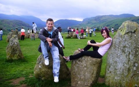 Castlerigg Stone Circle, Cumbria, Anglia